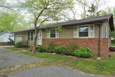 Absecon Single Family Home For Sale: 144 S Mill Road