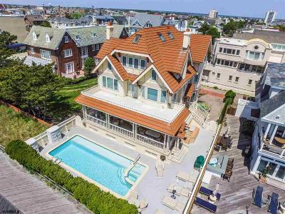 Ventnor Single Family Home For Sale: 6003 Boardwalk