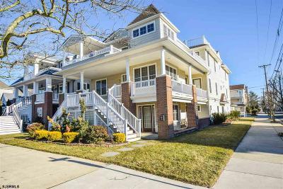 Ocean City Condo/Townhouse For Sale: 643 Ocean Ave #2nd floo