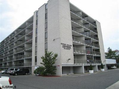 Ocean City Condo/Townhouse For Sale: 935 Ocean Ave #225