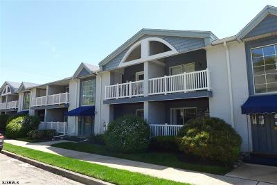 Somers Point Condo/Townhouse For Sale: 536d Sunrise Ave #D