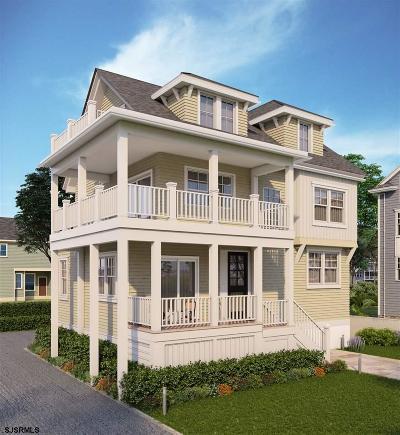 Ocean City Single Family Home For Sale: 414 Merion Pl