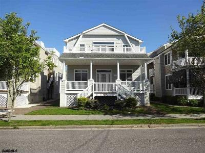 Ocean City Condo/Townhouse For Sale: 1213 Central Ave #1st Floo