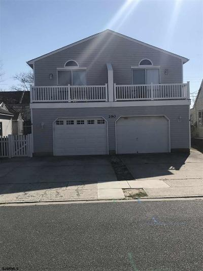 Brigantine Single Family Home For Sale: 290 40th Street
