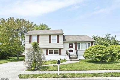 Somers Point Single Family Home For Sale: 16 Bucknell Road