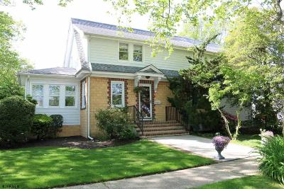 Somers Point Single Family Home For Sale: 153 Sunny Ave