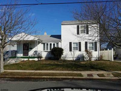 Atlantic City Single Family Home For Sale: 1615 Madison Ave