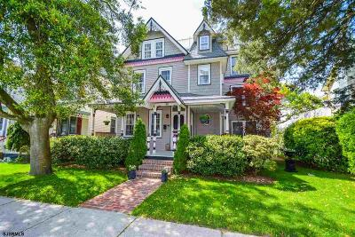 Ocean City Single Family Home For Sale: 40 Asbury Ave Ave
