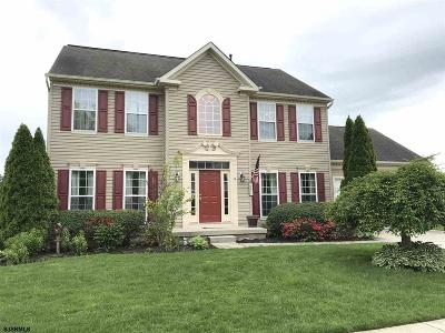 Egg Harbor Township Single Family Home For Sale: 8 Hideaway Ln