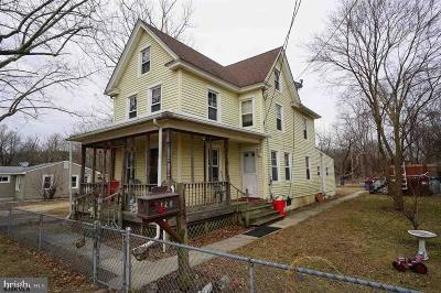 Millville Single Family Home For Sale: 1328 Canal St Street
