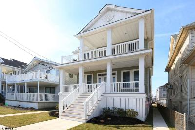 Ocean City Condo/Townhouse For Sale: 334 Asbury Ave #1st Floo