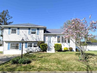 Somers Point Single Family Home For Sale: 11 Rutgers Rd Road