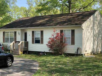 Egg Harbor Township Single Family Home For Sale: 17 Idlewood Ave Ave