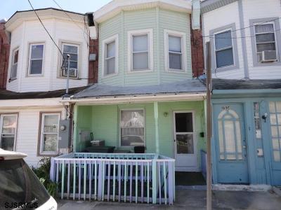 Atlantic City Single Family Home For Sale: 1532 Mediterranean Ave