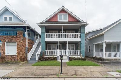 Ocean City Condo/Townhouse For Sale: 1317 Asbury Ave #A