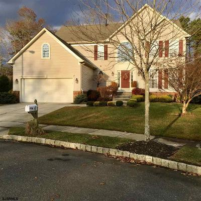 Egg Harbor Township NJ Single Family Home For Sale: $339,000