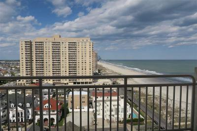 Ventnor Condo/Townhouse For Sale: 5200 Boardwalk #15D