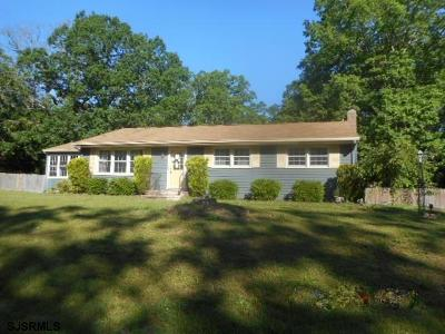 Millville Single Family Home For Sale: 2424 Holly Dr