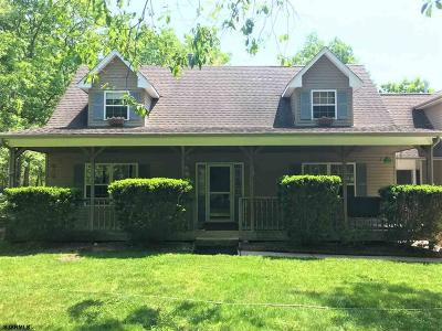 Egg Harbor Township Single Family Home For Sale: 92 Asbury Rd
