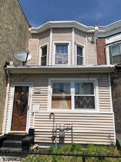 Atlantic City Single Family Home For Sale: 723 N Ohio Ave