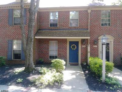 Mays Landing Condo/Townhouse For Sale: 1514 Hamilton Ct #1514
