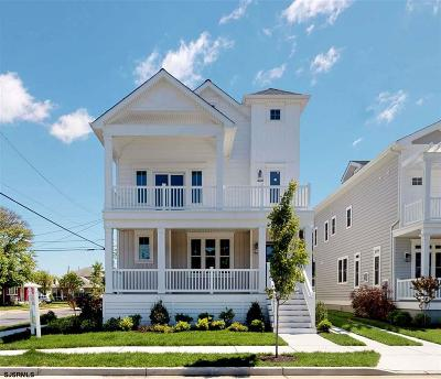 Margate Single Family Home For Sale: 123 N Rumson Ave
