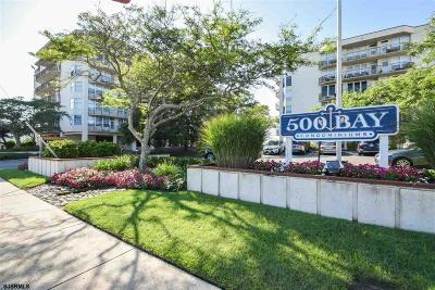 Ocean City Condo/Townhouse For Sale: 500 Bay 606 N Ave #606 N