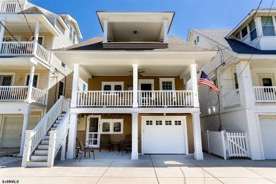 Ocean City Single Family Home For Sale: 851 Pennlyn