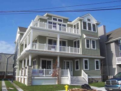 Ocean City Condo/Townhouse For Sale: 860 Seventh Street #First Fl