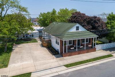 Ventnor Single Family Home For Sale: 303 N Washington Ave Ave