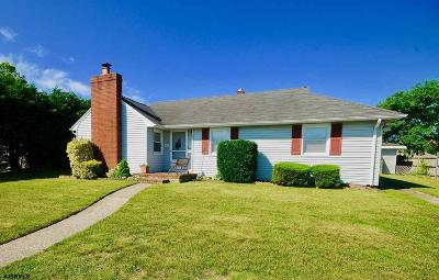 Brigantine Single Family Home For Sale: 200 20th Street