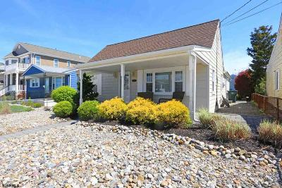 Brigantine Single Family Home For Sale: 235 13th St South