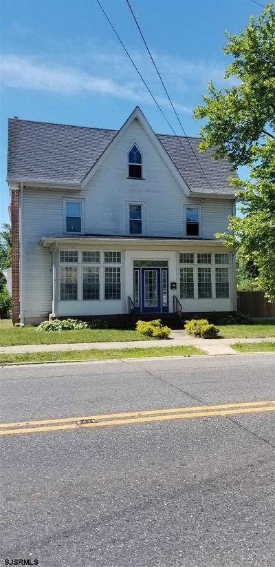 Millville Single Family Home For Sale: 425 E Main Sst