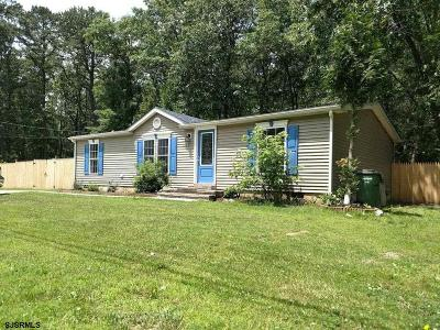 Egg Harbor Township Single Family Home Back On Market: 1043 Old Zion Road
