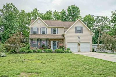 Vineland Single Family Home For Sale: 687 E Wheat Rd Road