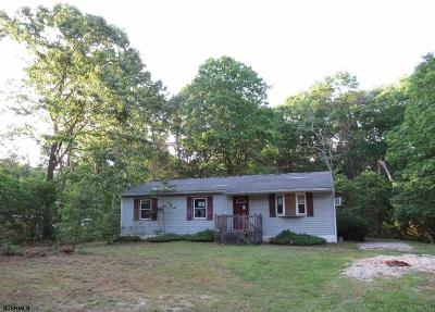 Millville Single Family Home For Sale: 560 Ramah Road