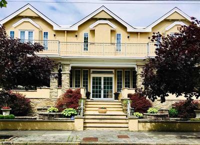 Atlantic City Single Family Home For Sale: 25 S Plaza Pl Pl