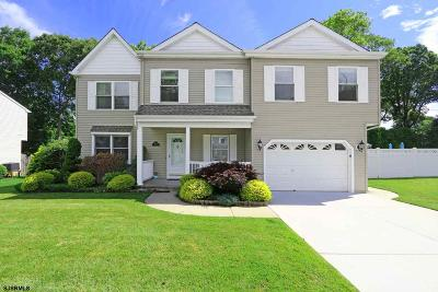 Absecon Single Family Home For Sale: 1106 Lavender