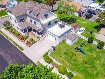Somers Point Single Family Home For Sale: 101 E Johnson Ave