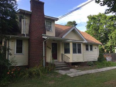 Vineland Single Family Home For Sale: 538 E Garden Rd Road