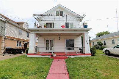 Ventnor Multi Family Home For Sale: 229 N Derby Ave