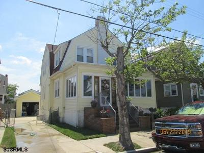 Atlantic City Single Family Home For Sale: 56 N Bartram Ave