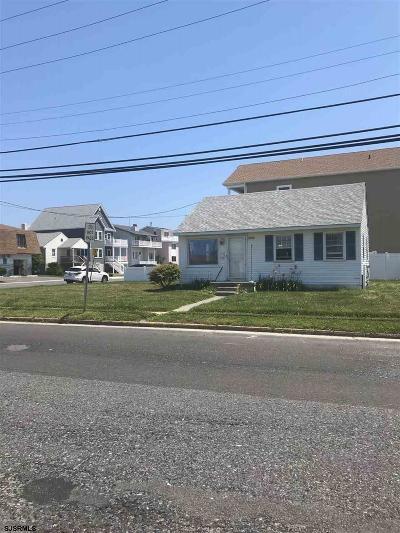 Brigantine Single Family Home For Sale: 3500 Bayshore Ave