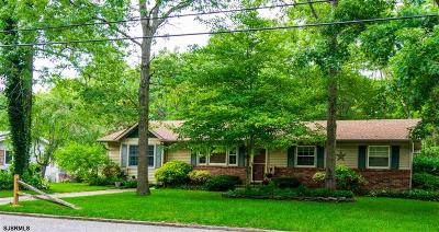 Absecon Single Family Home For Sale: 626 Woodland Ave