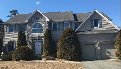 Egg Harbor Township Single Family Home For Sale: 75 Marshall Dr