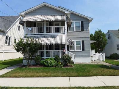 Ocean City Condo/Townhouse For Sale: 1527 Bay Ave #C-2