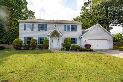 Absecon Single Family Home For Sale: 8 Andrea Ln
