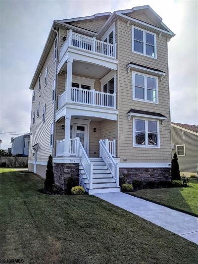 Brigantine Single Family Home For Sale: 332 S 32nd Street