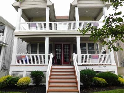Ocean City Condo/Townhouse For Sale: 1036 Central Ave #1st Floo