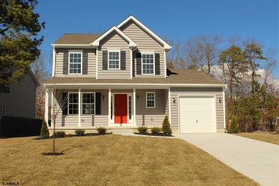 Galloway Township Single Family Home For Sale: 126 Justine Ln